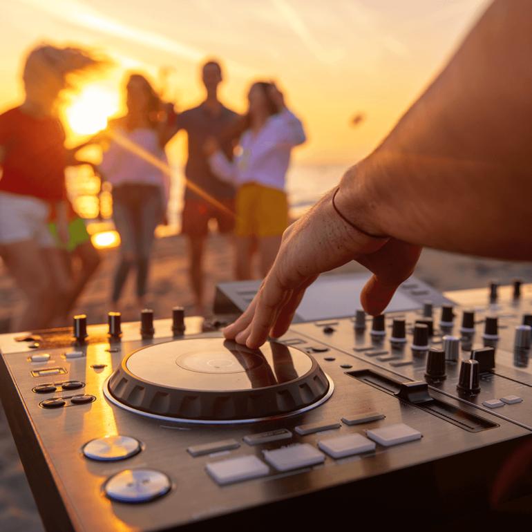 Sesiones de DJs